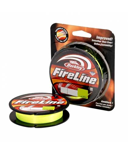 Шнур Berkley Fireline Original New 110 m 0,32 mm #Flame Green