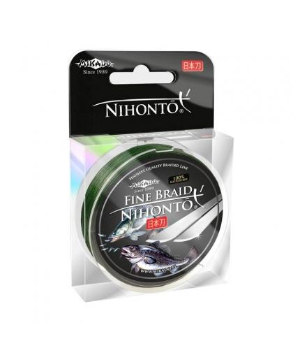 Шнур Mikado Nihonto Fine Braid 150 м 0,45 мм #Green
