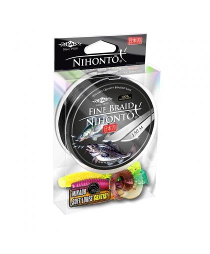 Шнур Mikado Nihonto Fine Braid 150 м 0,40 мм #Black