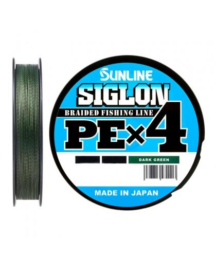 Шнур Sunline Siglon PEx4 50lb 0,296 mm 150 m #Dark Green