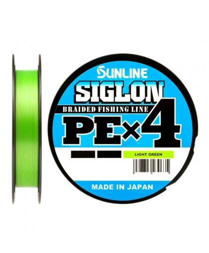 Шнур Sunline Siglon PEx4 50lb 0,296 mm 150 m #Light Green