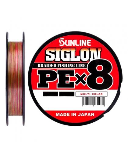 Шнур Sunline Siglon PEx8 50lb 0,296 mm 150 m #Multi Color