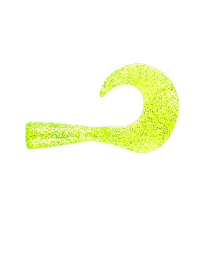 Набор хвостов Strike Pro Wolf Tail Jr. EG-175TC #Chartreuse Glitter