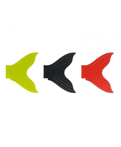 Набор сменный хвостов Strike Pro X-Buster EG-051T #Chartreuse/Black/Red