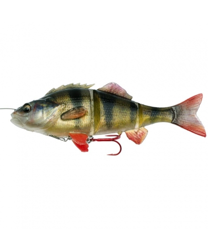 Виброхвост Savage Gear 4D Line Thru Perch 17cm 01-Perch