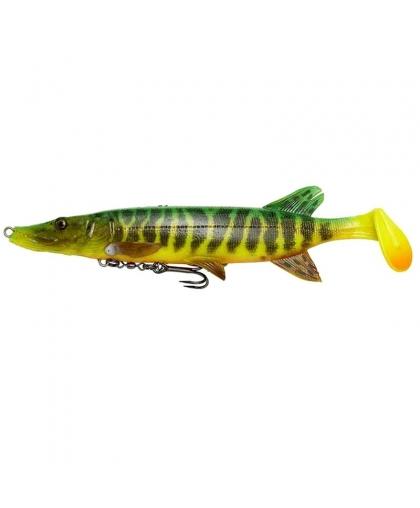 Виброхвост Savage Gear 4D Pike Shad 20cm #03-Fire Tiger