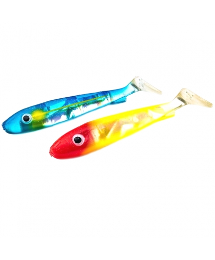 Віброхвіст Svartzonker Flash Series McRubber Jr. 17 cm #Blue Sardine&Clown
