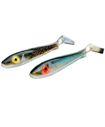 Віброхвіст Svartzonker Flash Series McRubber Jr. 17 cm #Herring&Eelpout