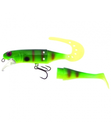 Воблер Westin Jatte Teez Tail 14 cm #Concealed Fish